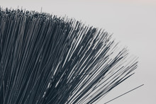 A Closeup Of A Bristle Brush. ...