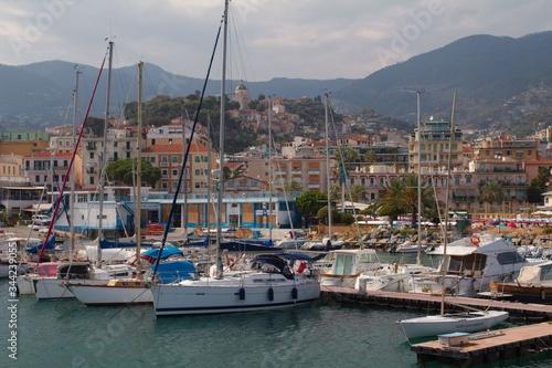 Fototapeta Riwiera di Ponente - Liguria, Włochy obraz