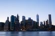 New York City Skyline from Brooklyn at night
