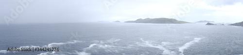 Fototapeta Islas frente a la península de Dingle, Irlanda obraz