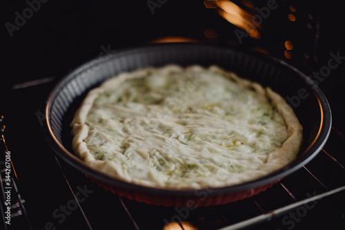 Photo Tourte avant la cuisson