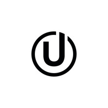 UU U Letter Logo Design Icon