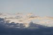 Leinwandbild Motiv Wolken Himmel ohne Kondensstreifen