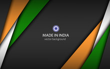 Made In India, Modern Vector B...