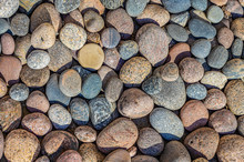 Sea Stones Of Different Shapes...