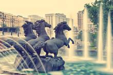 Water Fountain In Alexander Ga...