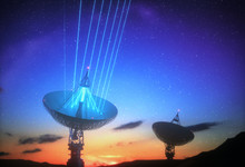 Huge Satellite Antenna Dish Fo...