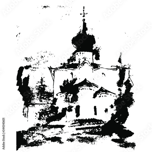 Photo Ancient Russian temple
