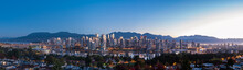 Vancouver Skyline With North S...