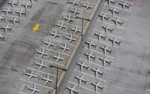 Lockdown Of Flights Concept: C...