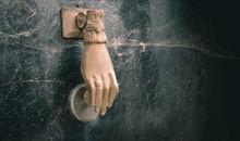 Antique Hand-held Door Handle ...
