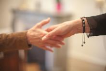 Cropped Image Of People Handshaking