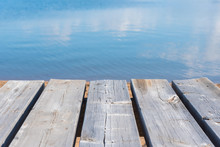 Close-up Of Picnic Table With ...
