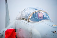 Close-up Of Fighter Plane
