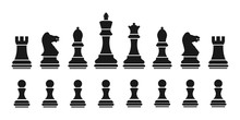 Set Chess. Silhouettes Of Ches...