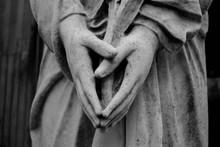 Escultura De Cementerio Manos ...