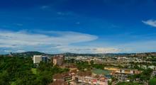 Aerial Shot Of Downtown Kampala, Uganda