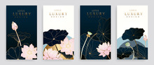 Luxury Cover Design Template. ...