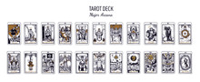 Big Tarot Card Deck.  Major Ar...
