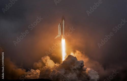 Stampa su Tela Rocket liftoff
