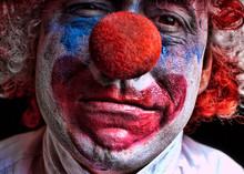 Close-up Portrait Of Clown