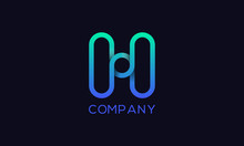 Letter H Professional Logo For...