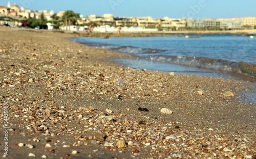 Obraz The Red Sea beach in Hurghada  - fototapety do salonu