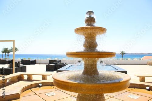 Obraz A tourist village in Hurghada 3 - fototapety do salonu