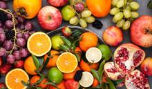 Assorted Fruits. Different Fru...
