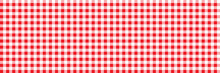 Red Retro Tablecloth Texture