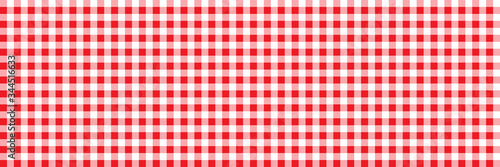 Foto Red Retro tablecloth texture