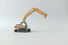 Toy Crawler Excavator With A ...