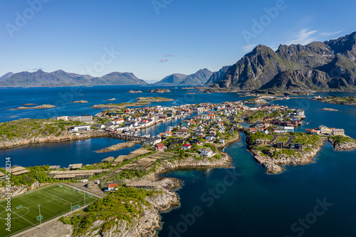 Fotografie, Obraz Henningsvaer Lofoten is an archipelago in the county of Nordland, Norway