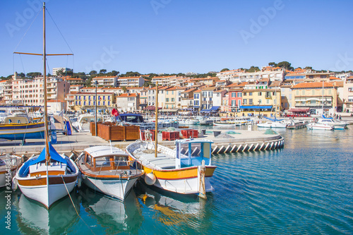 The port of Cassis, south of France