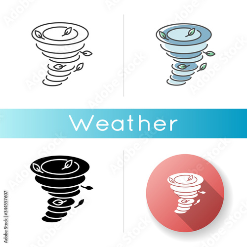 Fotografie, Obraz Tornado icon
