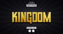 Kingdom Royal Text Effect, Edi...