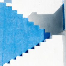 Colorfully Painted Staircase W...