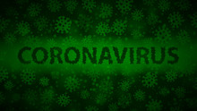 Background With Viruses And In...