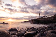 Maine Lighthouse Portland Head...