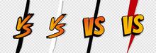 VS. Versus Letter Logo. Battle Vs Match, Game