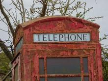 Disused British Telephone Box