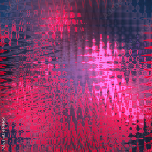 Photo Abstract Watery Glass Texture