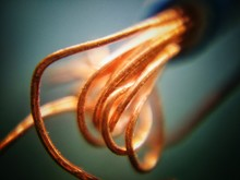 Close-up Of Copper Wires