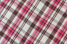 Natural Brown Pink Checkered W...