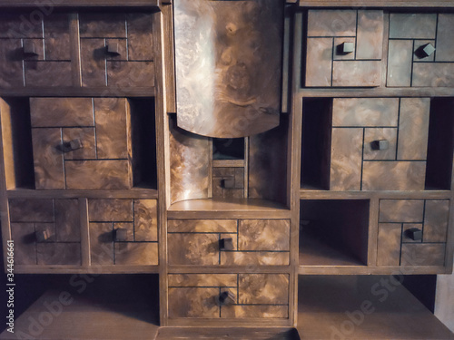 Fotografie, Tablou antique furniture in a hotel