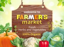 Poster Design For Farmers Mark...