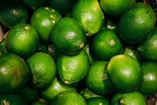 Close-up Of Fresh Green Lime
