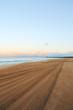 Sunrise from West Side of Kauai Hawaii at Majors Beach