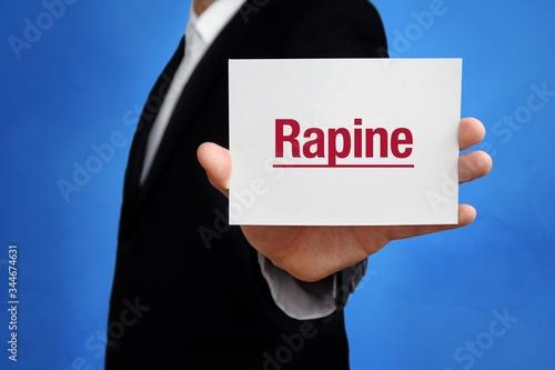 Valokuva Rapine
