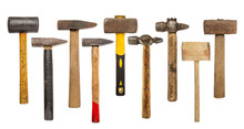 Set Of Hammers And Sledgehammer
